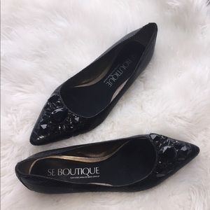 Sam Edelman flats with beaded accent